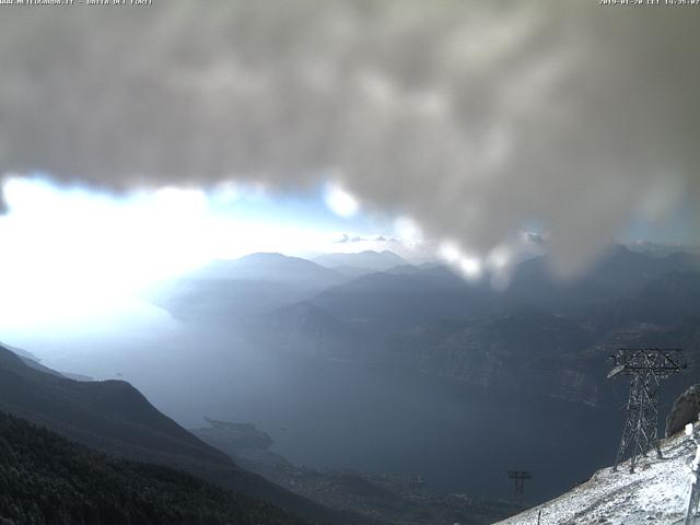 Webcam Monte Baldo, Bergstation Seilbahn