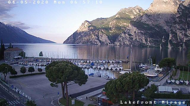 Webcam Riva del Garda, Hotel Mirage