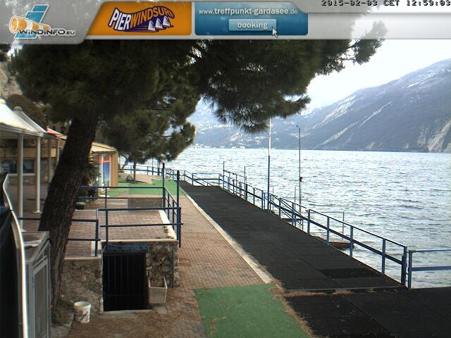 Webcam Riva del Garda, Pier Windsurf Center