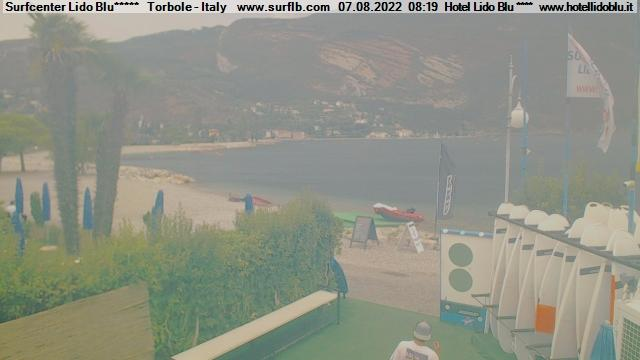 Webcam Torbole, Surfcenter Lido Blu